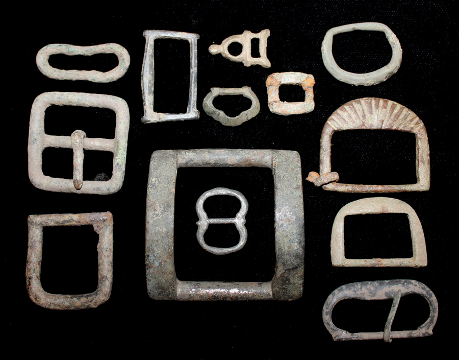 One Lot of Roman-Medieval Buckles