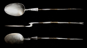 Silver Spoon, 1st-3rd Cent, Museum Quality