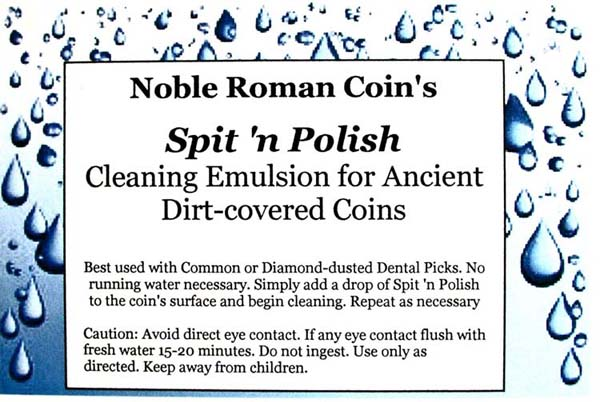 Spit 'n Polish Coin-cleaning Emulsion