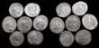 One Lot of 7 RP Billon Tetradrachms