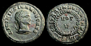 Licinius II (Jr) Votive Issue