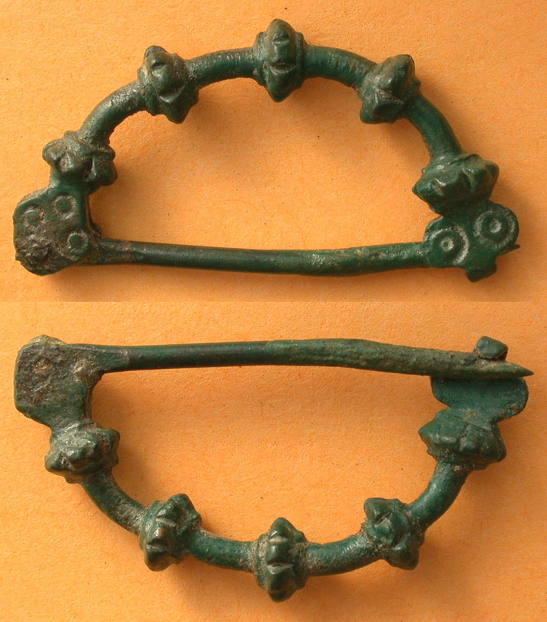Brooch, Bronze Age, Urnfield Culture, c. 7th Cent BC