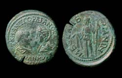Thrace, Mesembria, Gordian III and Tranquillina, Demeter reverse