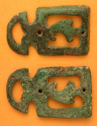 Belt Mount, Suspension Loop, Zoomorphic, c. 1st-3rd Cent.